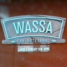 WASSA front sign