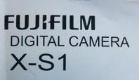 Fujifilm X-S1 manual