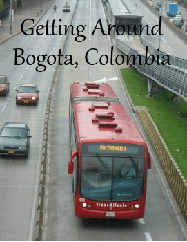 Visitor's Guide to Getting Around Bogotá, Colombia