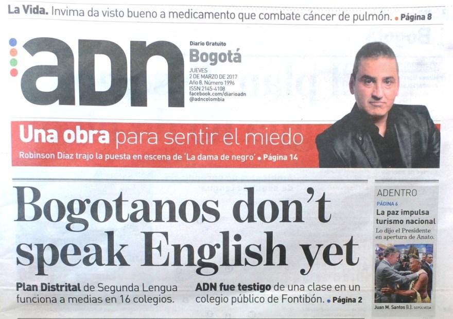 Bogota Colombia education