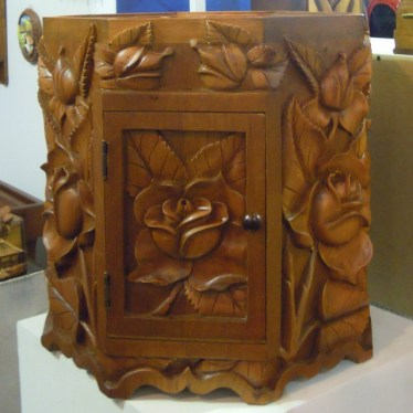 Carved pieces. We purchased one of these