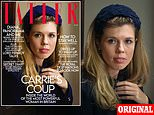 Carrie Symonds covers Tatler's April issue