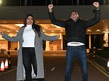 First couple released from hotel quarantine celebrate their freedom by going straight to McDonald's