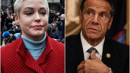 Rose McGowan Calls for Investigation Into Andrew Cuomo Abuse Claims: 'I Completely Stand by Lindsey Boylan'