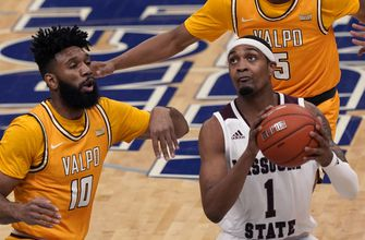 Mosley scores 29 in Missouri State's 66-55 win over Valparaiso