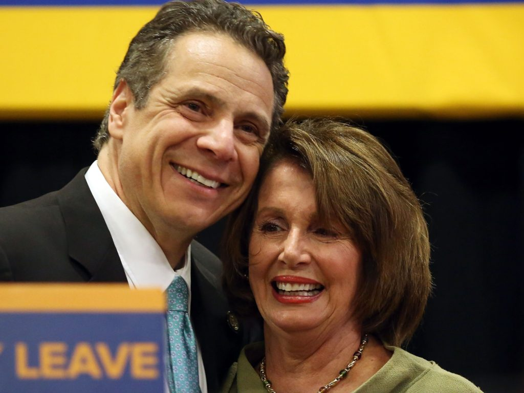 Nancy Pelosi Decides Andrew Cuomo's Sexual Harassment Allegations Are 'Credible'