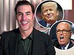 Sacha Baron Cohen sarcastically thanks the 'all-white Hollywood Foreign Press'