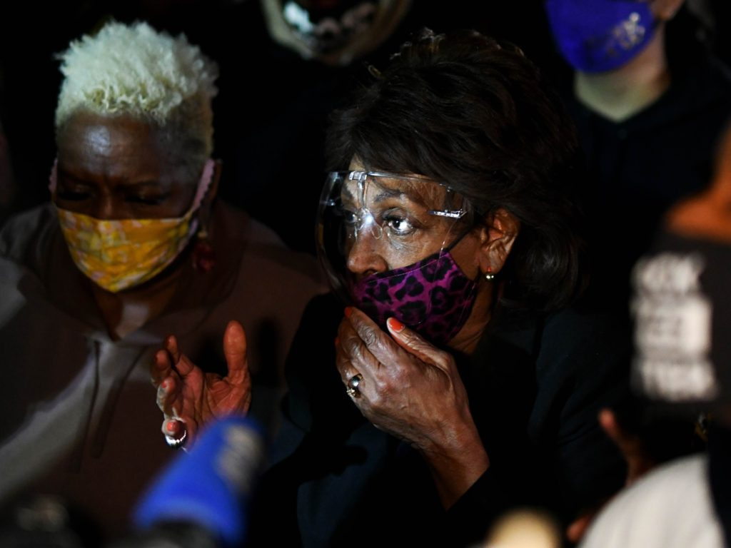 WATCH -- Maxine Waters: Derek Chauvin Must Be 'Guilty, Guilty, Guilty' or We Take to the Streets