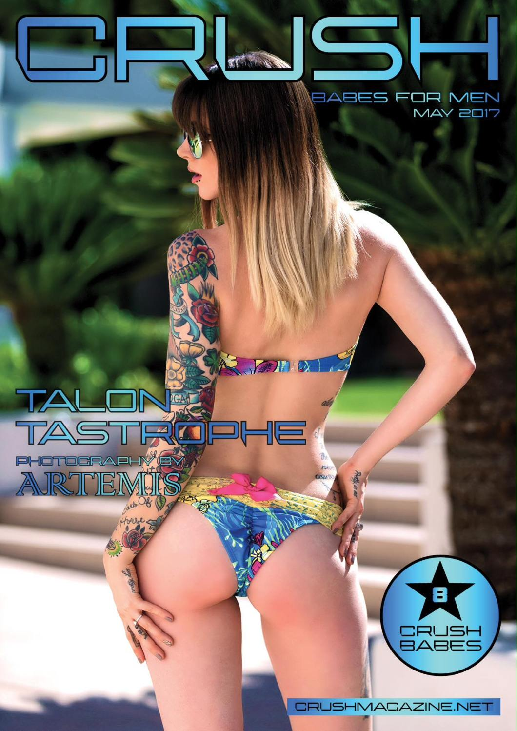 CRUSH Cover by Artemis PhotoWorks featuring Talon Tastrophe