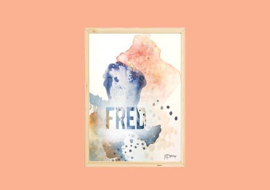 Fred original kunst