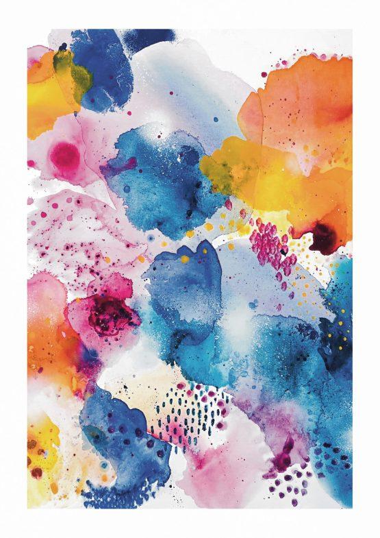 CHERISH joy art print