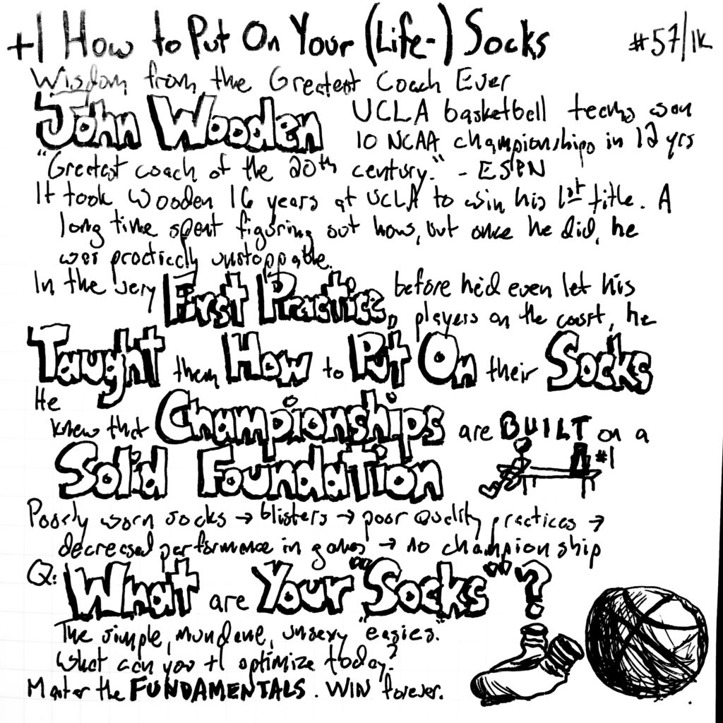 How To Put On Your Life Socks