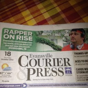 Michael Barber Rapper Courier Press