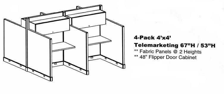 4-pack-4x4-telemarketing-67h-53h-nn