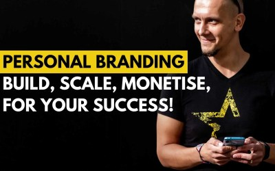 Personal Branding – build, scale, monetise for your success