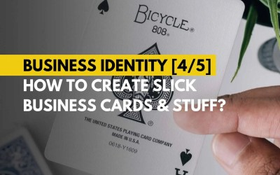 Business Identity – How to create slick business cards and stuff?