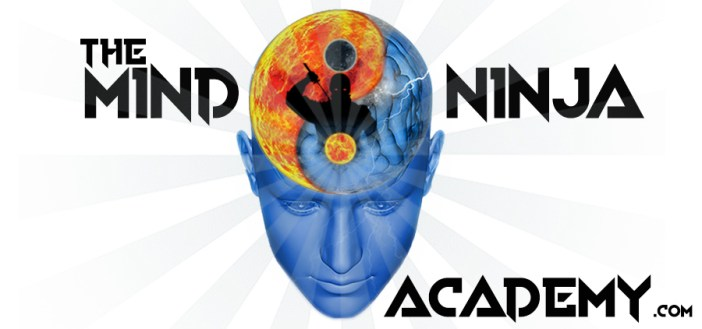 The MIND NIJA ACADEMY header