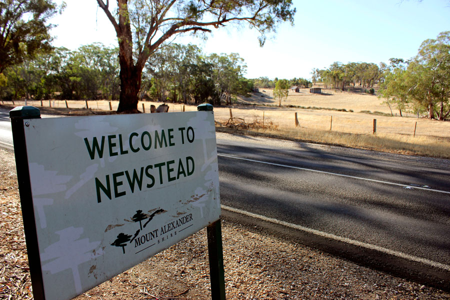 Newstead is a town of about 800 residents in central Victoria.