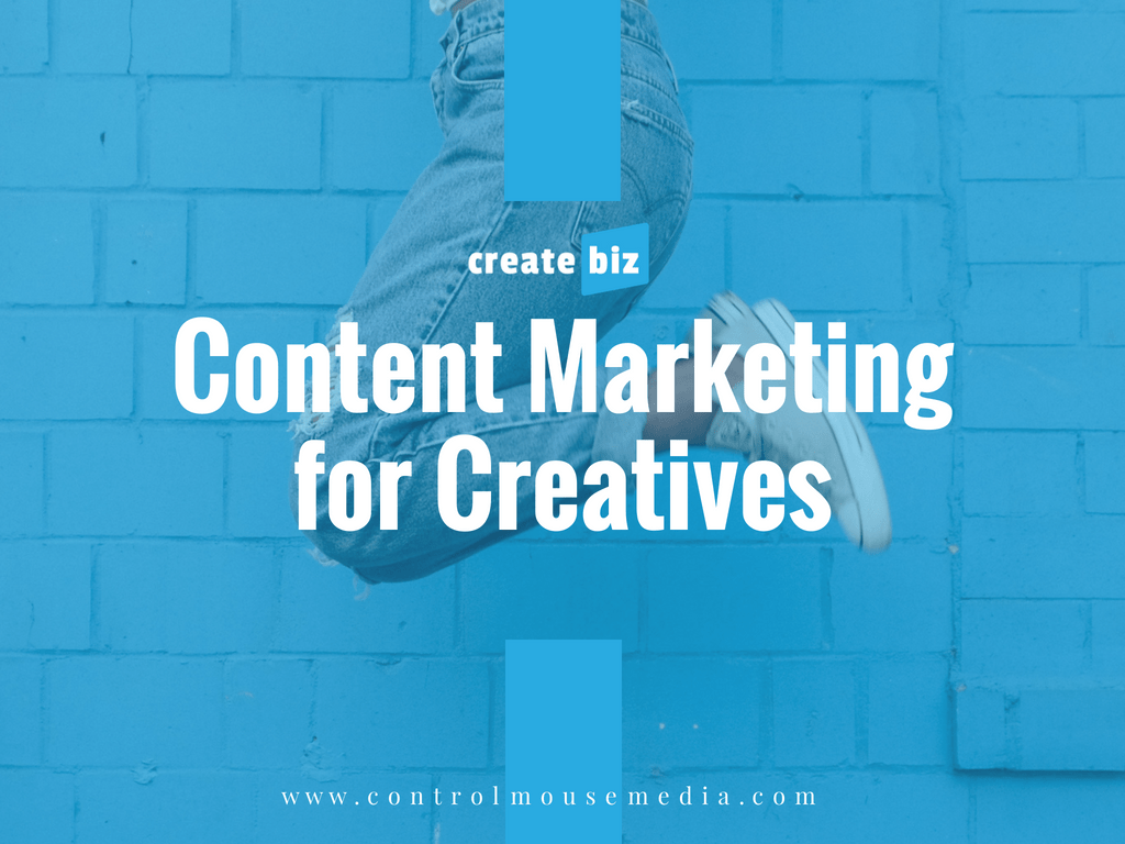Creatives of all types can learn content marketing in this online course from Michael Boezi, Owner and Managing Director of Control Mouse Media, LLC.
