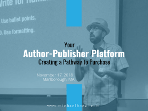 Author Platform, Book Marketing, Self-Publishing