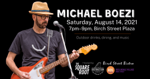 Michael Boezi is a singer-songwriter who performs original songs about our culture's current challenges.