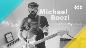 """Michael Boezi performs """"Silicon in My Soul"""" for JP Couchfest 2021"""
