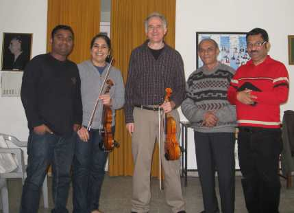 Delhi Music Society Violin Master Class Feb 22 2014