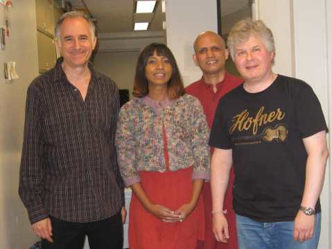 Michael in Ragas Live broadcast on WKCR NY June 14 2013