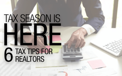 Tax Tips For Realtors