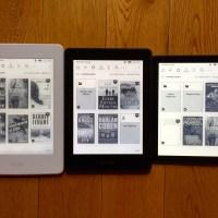 Kindle Oasis vs. Kindle Voyage vs. Kindle Paperwhite