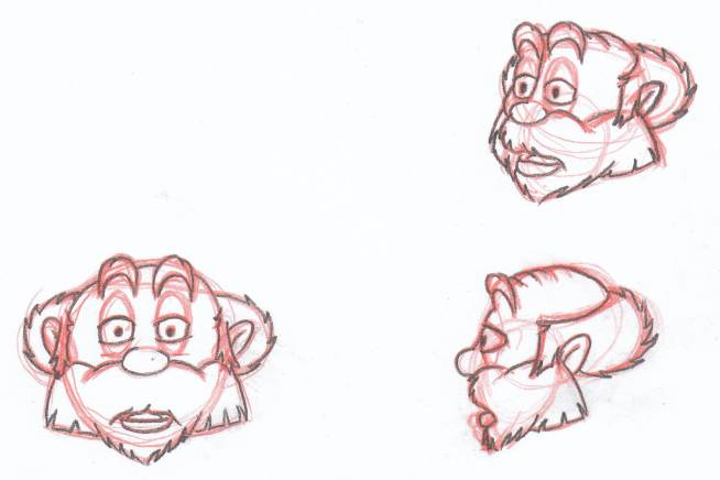 Cupid_Heads model sheet