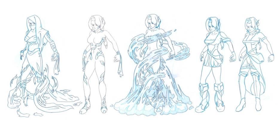 Kameo-Costume-Versions
