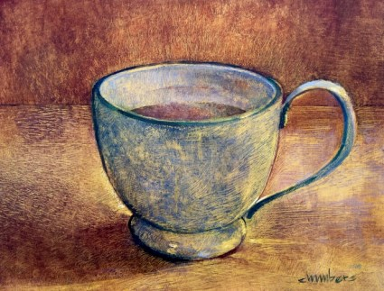 Ghost Coffee - oil on panel - Michael Chambers - 2015