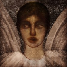 Angel, digital painting by Mike Chambers