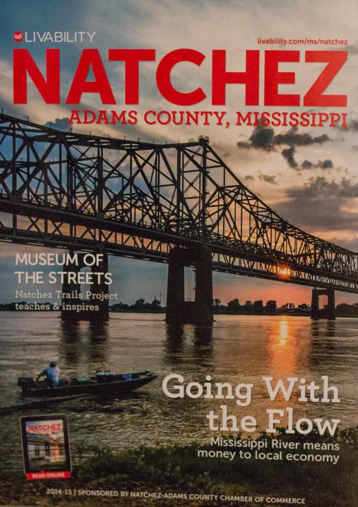 Cover Image for LIVABILITY NATCHEZ Magazine