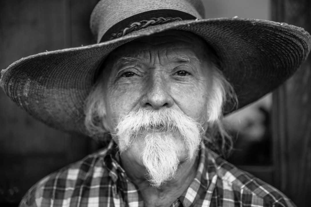 Portrait & Wedding Photographer in Natchez. Creative Portrait of J.D. Montgomery.