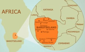 Barotseland Map