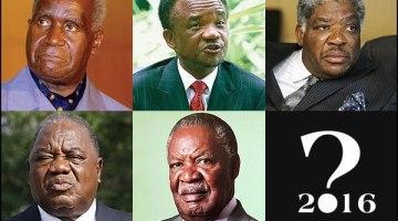 Zambian Presidents Kenneth David Kaunda, Frederick Jacob Titus Chiluba, Levy Patrick Mwanawasa, Rupiah Bwezani Banda, Michael Chilufya Sata