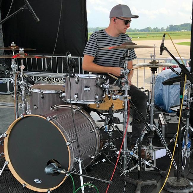 Ben Pentz - drums/percussion