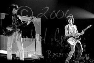 Bill Wyman & Keith Richards 2 [The Rolling Stones - Freedom Hall, Louisville Ky 11-3-81]