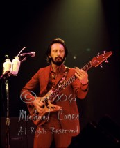 One of several satisfying images I managed to get of John Entwhistle, once I was near the front of the stage, late in the show