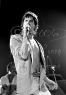 Mick Jagger serious look [The Rolling Stones - Freedom Hall, Louisville Ky 11-3-81]