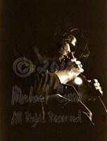 Nick Cave closeup dark [Nick Cave & The Bad Seeds - I Beam, SF 10-28-86]