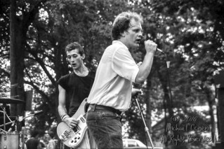 """Babylon Dance Band Swiss Park Louisville, Kentucky 8-7-82 These photos were taken on print film, and then digitally scanned at 2000 dpi. All images viewed here are """"proofs"""" of the negatives. Serious inquiries regarding further publication will be entertained. Please contact me with comments, questions, etc. at michaelconen@myway.com Babylon Dance Band; Swiss Park; Louisville; Kentucky; 8-7-82; Any further use requires permission from the photographer; Michael Conen."""