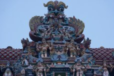 Meenkashi Temple Top