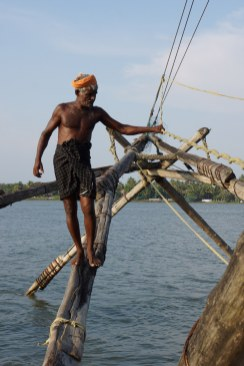 Fisherman working the Asian Nets