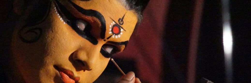 Kathakali Makeup