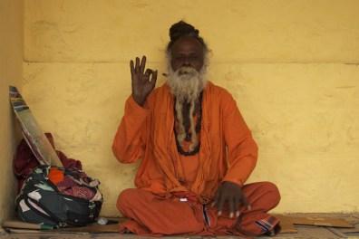 Sadhu at Chamundi