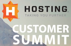 Hosting Customer Summit 2015
