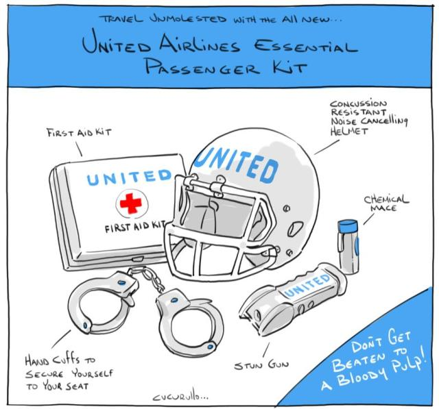 Vote on Your Favorite United Airlines Cartoon 3